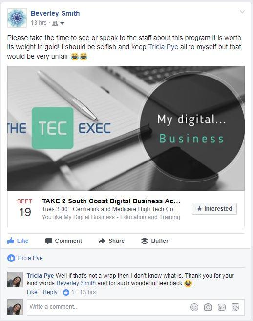 Digital Transformation Education Comes to Batemans Bay on the South Coast of NSW